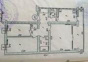 Панельный 3 комнатная 5/9 этажного,  французская планировка 31000