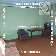 1 ком.кв. Лисунова-1